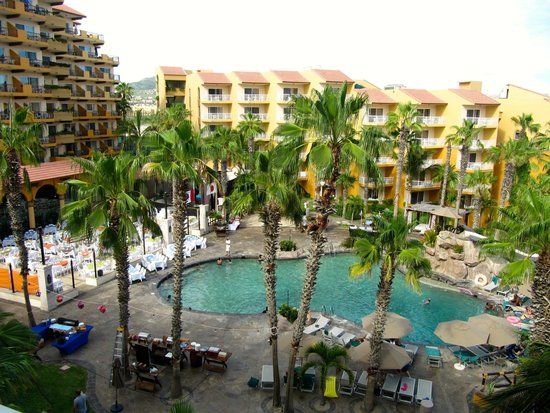 Villa del Palmar Beach Resort & Spa Los Cabos: Nice pool view on the 6th floor (building 3).