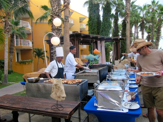 Villa del Palmar Beach Resort & Spa Los Cabos: Seafood Buffet (Thursday night).