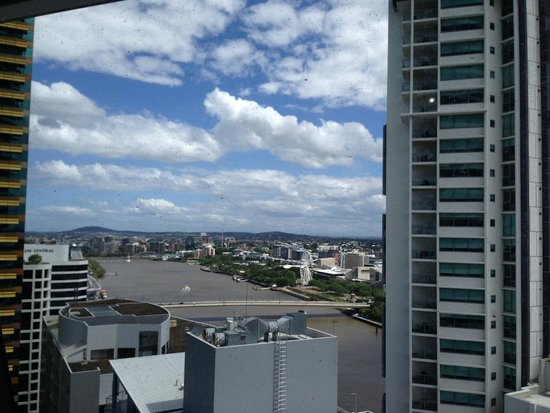 Meriton Suites Adelaide Street, Brisbane: View from room