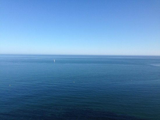 Hotel Best Benalmadena: View from room on the 10th floor, sea front