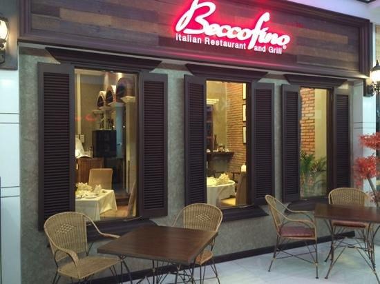 Beccofino Italian Restaurant and Grill : Beccofino windows