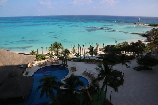 Grand Fiesta Americana Coral Beach Cancun: View from the room