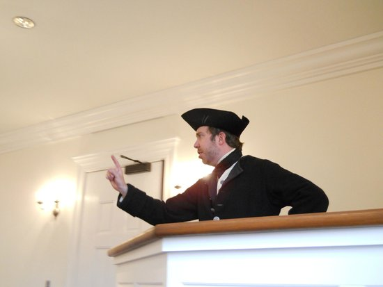 "Boston Tea Party Ships & Museum: ""Town hall"" meeting"