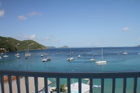 The Lighthouse Villas : View from the rooms balcony