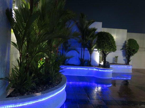 Radisson Blu Kochi: Top level bar and dining area