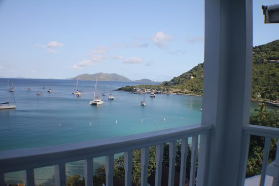 The Lighthouse Villas : view to north from the rooms balcony