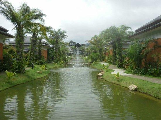 Beyond Resort Khaolak: Palm Villas looking toward Reception Area