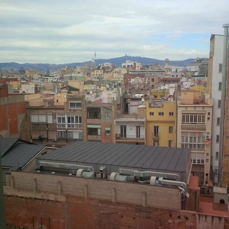 Le Meridien Barcelona: View from the room