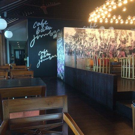 Cafe Batu Jimbar: Inside