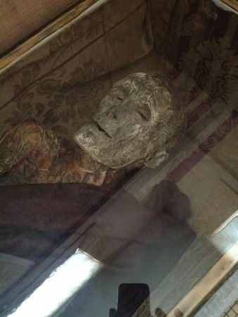 Barbour County Historical Museum: Female mommy preserved by Graham Hamrick on display in museum