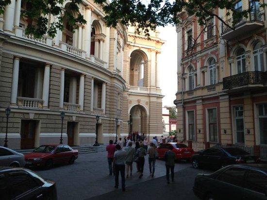 Teatralnaya Square : Оперный театр
