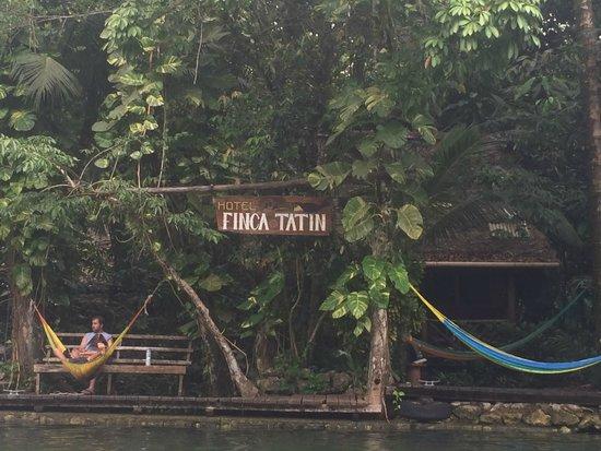 Hotel Finca Tatin : Entrada