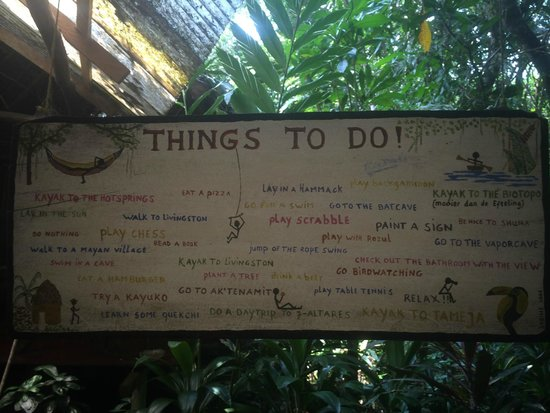 Hotel Finca Tatin : Things to do!