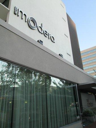Hotel Modera: Modera Sign