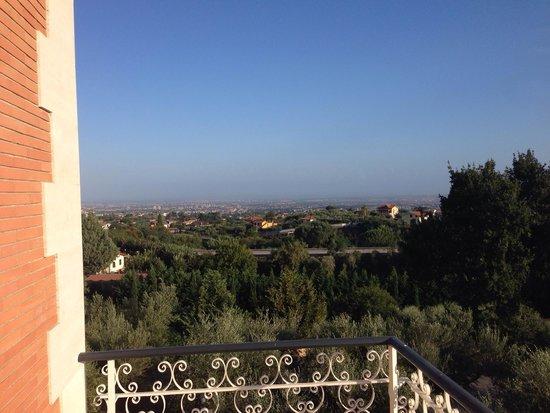 Agriturismo Tenuta Quarto Santa Croce: vista dal balcone