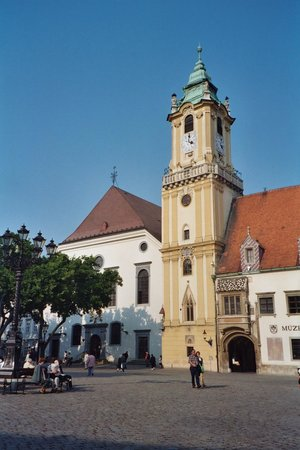 Bratislava Old Town: Town Hall