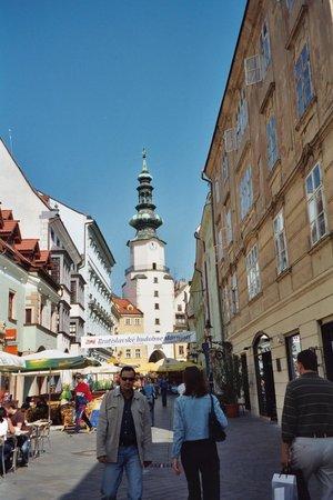 Bratislava Old Town: Venturska St