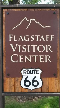 Flagstaff Visitor Center: Insegna