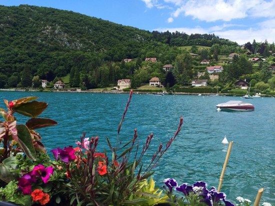 Lac d'Annecy (photo prise à Talloires)