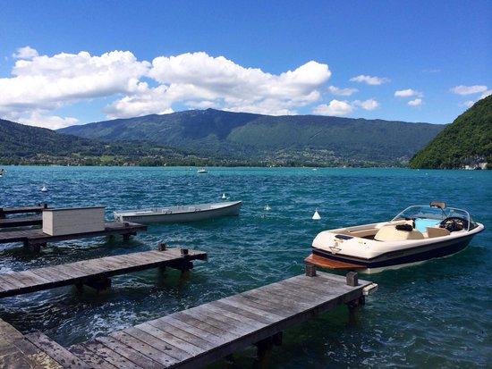 Lac d'Annecy (photo prise de Talloires)