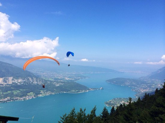 Lac d'Annecy (photo prise du Col de la Forclaz)