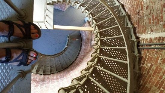 Cape Blanco Lighthouse: stairs