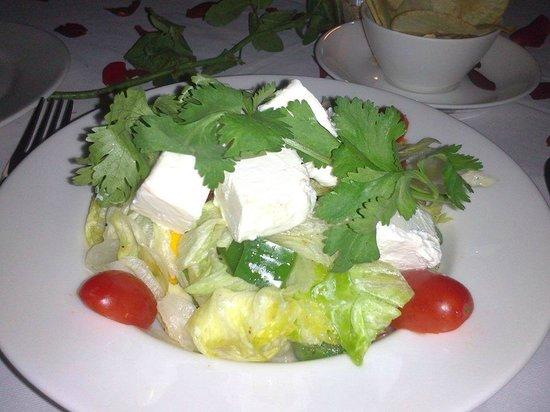 Old Harbour Hotel Restaurant: Greek Salad
