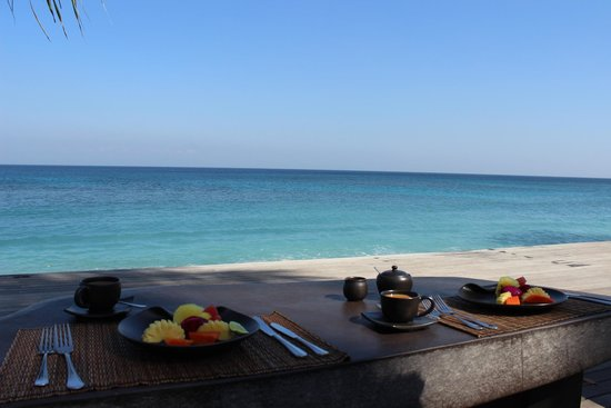 Qunci Villas Hotel : breakfast view - could be worse! :)