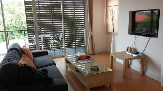 Studio 99 Serviced Apartments: 客廳