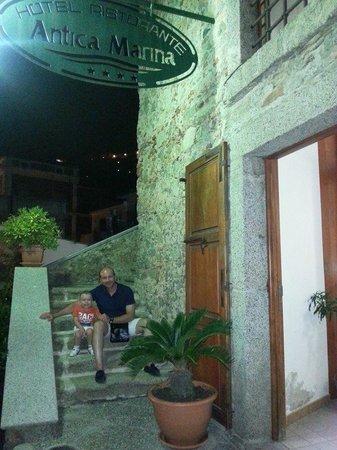 Hotel Ristorante Antica Marina : Antica Marina Ingresso