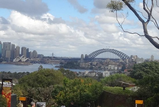 Taronga Zoo : View form the Zoo- Opera House and Harbour bridge