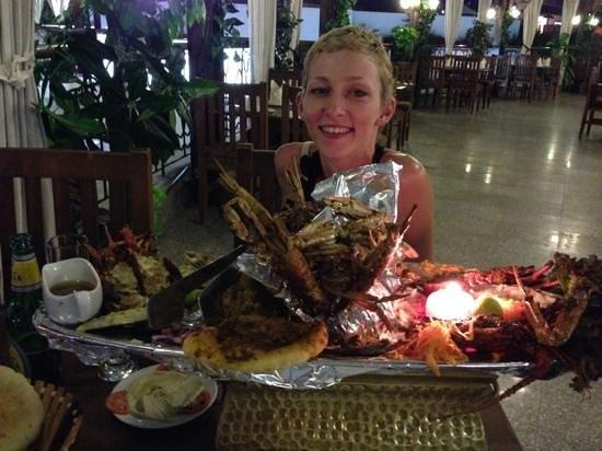 La Rose Seafood : На одном большом блюде подают сразу все морепродукты, которые Вы выбрали
