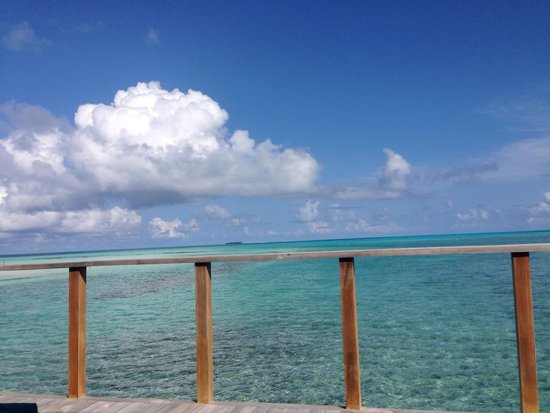 Meeru Island Resort & Spa : Our balcony