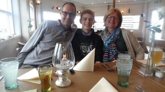 Restaurant Arken: Mis amigos de Dinamarka que hicieron mi Dia Especial