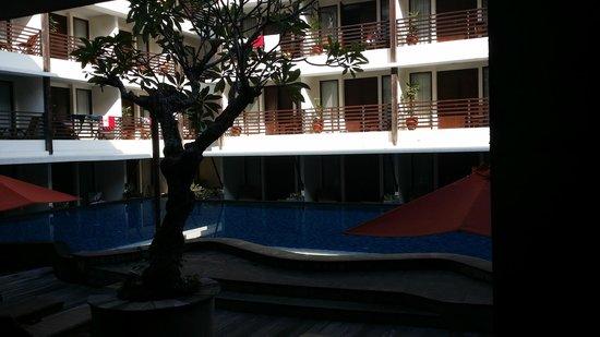 Sun Island Hotel & Spa Kuta: view from breakfast