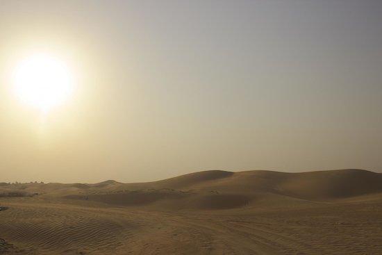 Al Badeyah Eyes Day Tours (ABET) Desert Safari: desert view