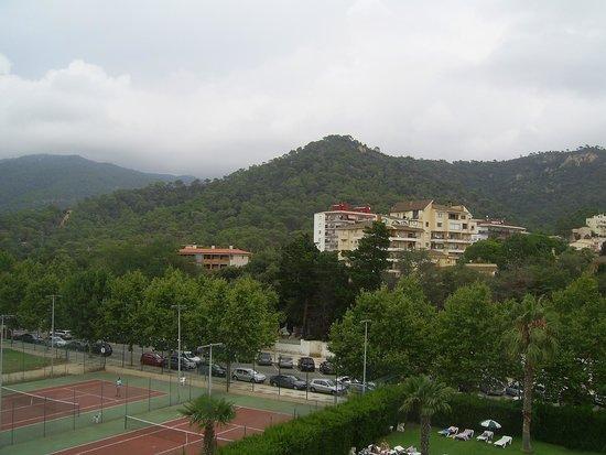 Hotel Marina Tossa: Вид из номера