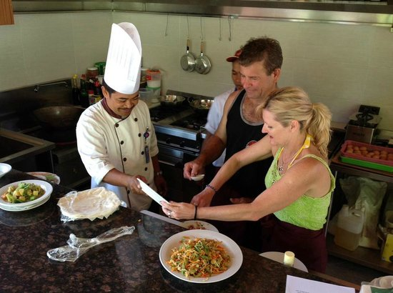 Satriya Cottages: Cooking classes