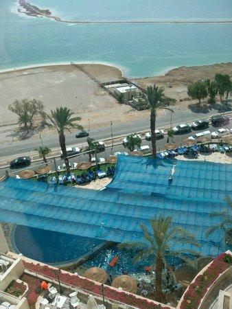 Leonardo Plaza Hotel Dead Sea : נוף לבריכה המקורה