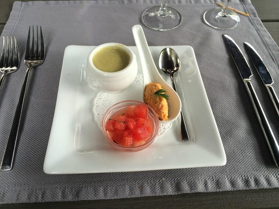 Saint Louis, France: Amuse Bouche