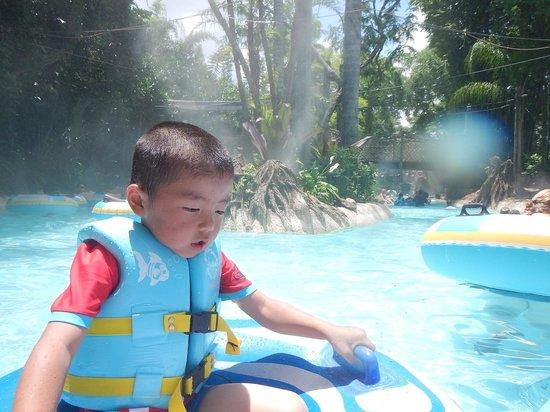Disney's Typhoon Lagoon Water Park: キャスタウェイ・クリーク