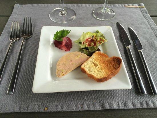 Le Trianon: Foie gras appetizer