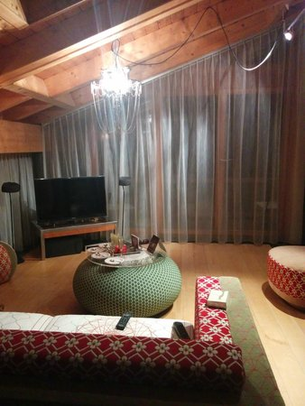 Coeur des Alpes : Lounge inside the Room