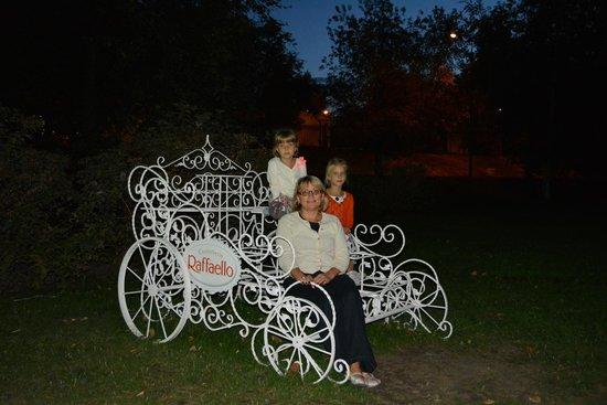Gorkiy Central Park of Culture and Recreation: зелень газонов