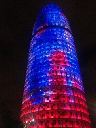 Torre Agbar : Tour agbar