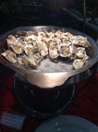 Prince Court Restaurant: Oysters