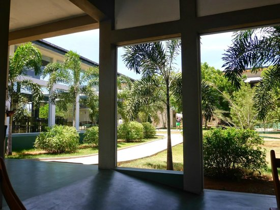 Magampura Eco Village Resort: Check in area