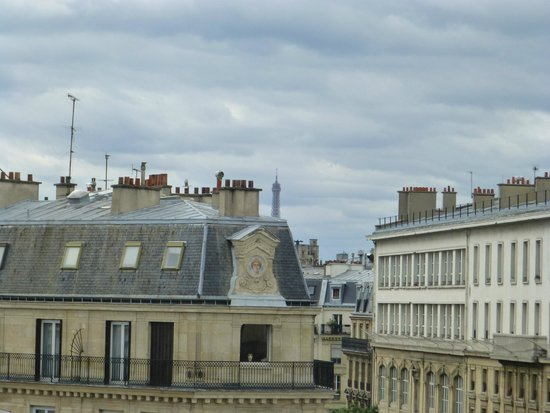 Paris France Hotel : View from Room 4
