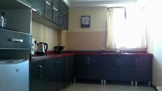 Urban Rose Hotel and Apartment: Kitchen