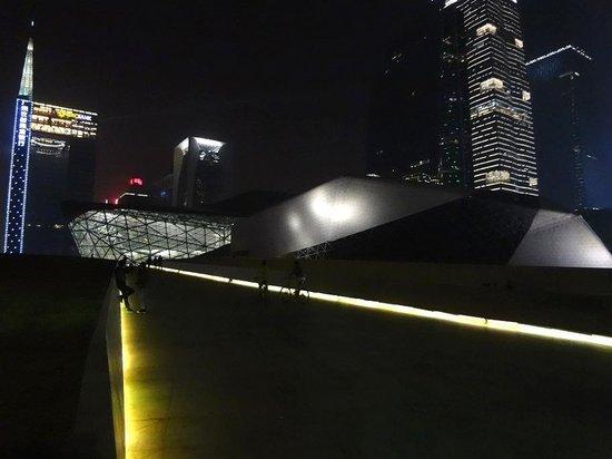 Guangzhou Opera House: Спортивный пандус